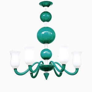 Murano Glass Chandelier by Paolo Venini, 1950s