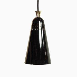 Lámpara de techo de Otto Bartning, años 50