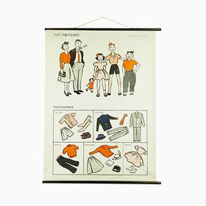 Stampa scolastica Pim-Family di Hildegard Friedrichs, 1963