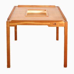 Mesa de juegos de Gorm Lindum Christensen para Tranekær Furniture, años 70