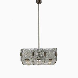 Lámpara de techo Mid-Century de Kamenicky Šenov, años 70