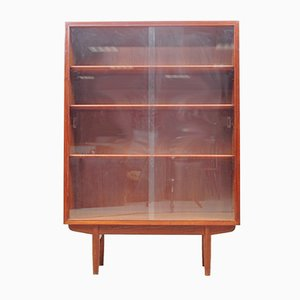 Mid-Century Danish Teak Display Cabinet by Borge Mogensen for Søborg