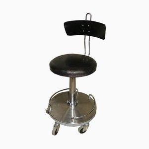 Chaise de Médecin Pivotant Vintage de ADMI