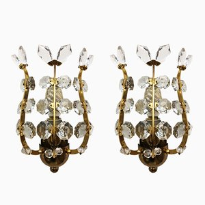Sconces by Oswald Haerdtl for Lobmeyr, 1950s, Set of 2
