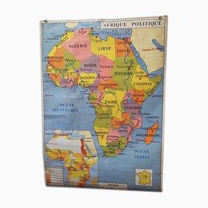 Vintage Afrika Landkarte von Rossignol