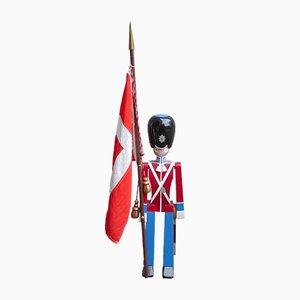 Figura de guardia de Tivoli vintage grande de roble de Kay Bojesen