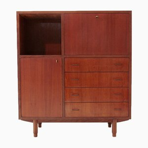 Italian Teak Sideboard with Drawers, 1960s