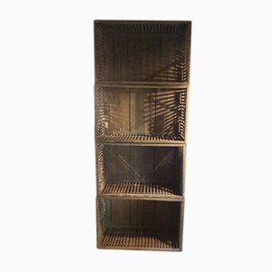 Holzkisten, 1930er, 4er Set