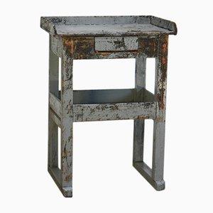 Schustertisch aus Tannenholz, 1950er