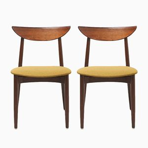 Dining Chairs by Harry Østergaard for Randers Møbelfabrik, 1950s, Set of 2
