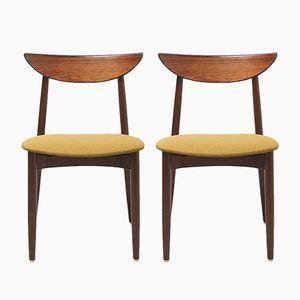 Esszimmerstühle von Harry Østergaard für Randers Møbelfabrik, 1950er, 2er Set
