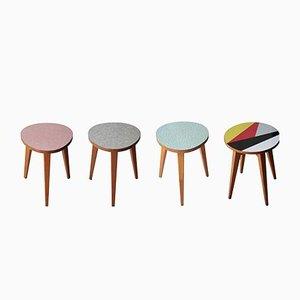Tables d'Appoint Tchèques, 1960s, Set de 4