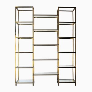 French Brass Shelf, 1970