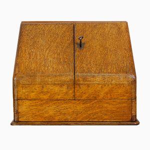 Caja de escritura inglesa Art Déco, años 20