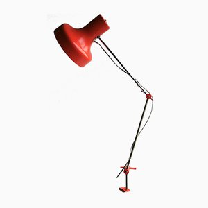 Vintage Clamp-On Lamp by Josef Hurka for Napako