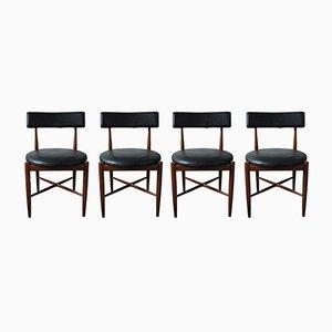 Esszimmerstühle aus Teak von G-Plan, 1960er, 4er Set