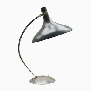 Mid-Century Metal Table Lamp, 1950s