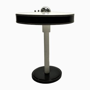 Lampada da tavolo vintage di Jacques Adnet, anni '50