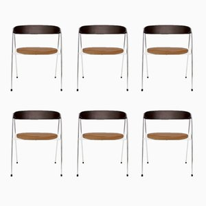 Dining Room Chairs by Roland Rainer for Wilkhahn, 1965, Set of 6