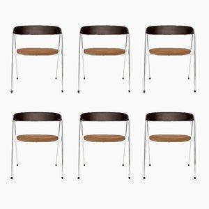 Esszimmerstühle von Roland Rainer für Wilkhahn, 1965, 6er Set
