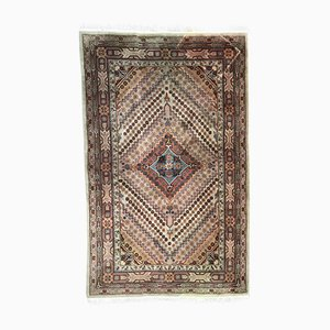 Vintage Sinkiang Khotan Hand-Knotted Rug