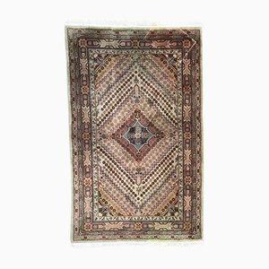 Vintage Sinkiang Khotan Hand-Knotted Rug