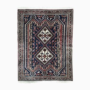 Vintage Middle Eastern Hand-Knotted Rug