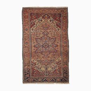 Antique Handmade Sarouk Rug, 1880s