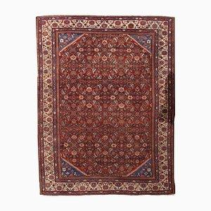 Antiker handgefertigter Teppich, 1900er