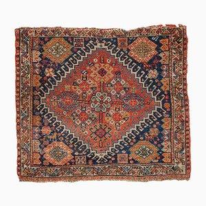 Antiker orientalischer Bag Face Teppich, 1870er