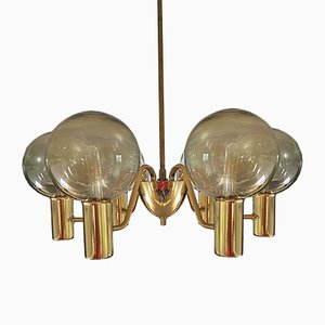 Patricia T 372/6 Chandelier by Hans-Agne Jakobsson, 1960s