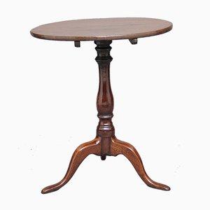 Tavolo tripode in quercia, XVIII secolo
