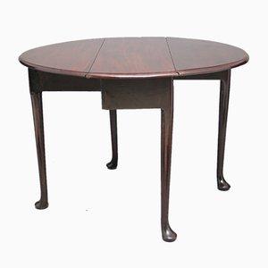 Tavolo allungabile in mogano, fine XVIII secolo