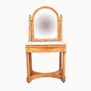 Burr Elm Dressing Table, 1830s
