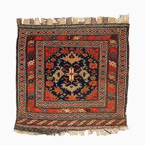 Antiker malaiischer Taschenfront-Teppich, 1900er