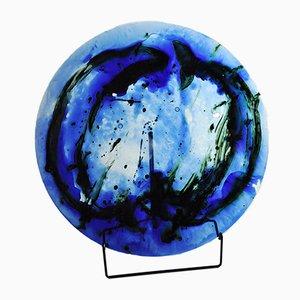 Vintage Glass Dish by Tróndur Patursson