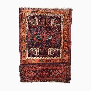 Tappeto curdo antico fatto a mano, anni '80