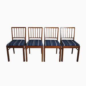 Danish Dining Chairs, 1940s, Set of 4