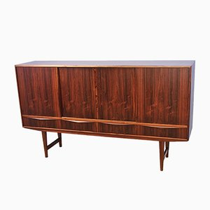 Mid-Century Danish Highboard in Rosewood by E.W. Bach for Sejling Skabe, 1960s
