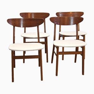 Chaises de Salon de Farstrup Møbler, Danemark, 1960s, Set de 4