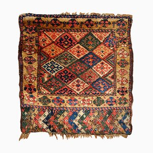 Tapis Bag Face Collectible Fait Main Antique, 1880s