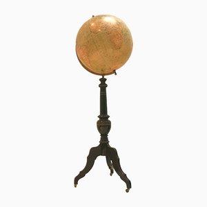 Grand Globe Antique par H. Kiepert pour Wahlström & Widstrand