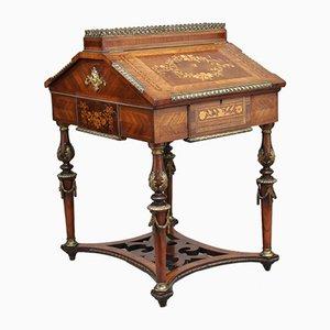 19th Century Kingwood & Ormolu Mounted Partners Desk