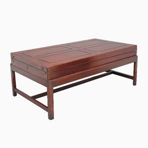 Table Bagatelle ou Table Basse en Acajou, 19ème Siècle