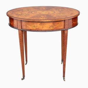 Satinwood Centre Table, 1890s