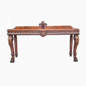19th Century Mahogany Hall Table