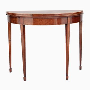 Mahogany Card Table, 1800s