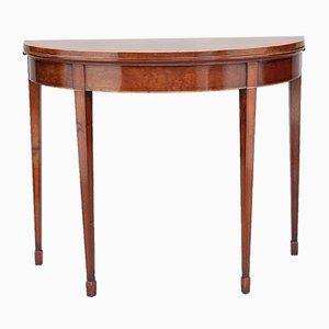 Tavolo da gioco in mogano, XIX secolo
