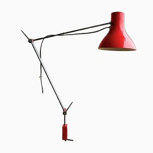 Vintage Clamp-On Table Lamp by Josef Hurka for Napako