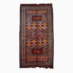 Antique Handmade Kurdish Rug, 1880s